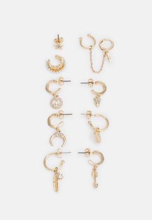 FGHIPSA EARRINGS 5 PACK - Øredobber - gold-coloured