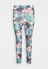 Nike Performance - FAST CROP RUNWAY - Leggings - pink - 3