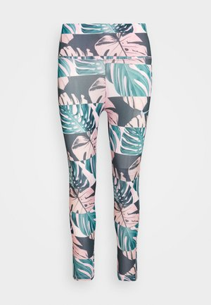FAST CROP RUNWAY - Leggings - pink