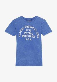 Petrol Industries - Triko spotiskem - antartic blue - 2