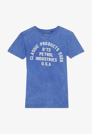 Print T-shirt - antartic blue