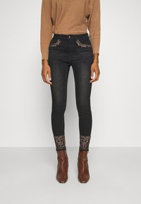 Desigual - DENIM_FLOYER - Jeans slim fit - black denim - 0