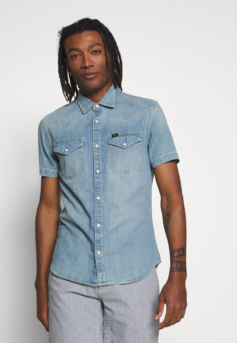 Lee - WESTERN - Chemise - frost blue