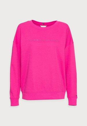 OVERSIZED TONAL OPEN - Sweater - pink