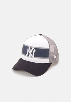RETRO TRUCKER UNISEX - Cap - white/navy