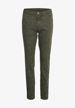 Jeans slim fit - sea turtle paisley