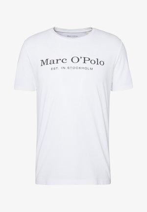 SHORT SLEEVE ROUND NECK - T-shirt med print - white