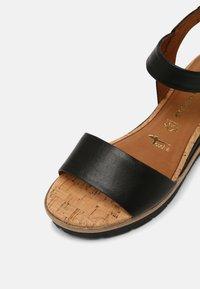 Tamaris - Platform sandals - black - 7