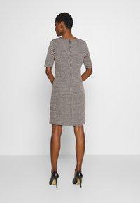 Esprit - KNIT DRESS - Shift dress - black - 2