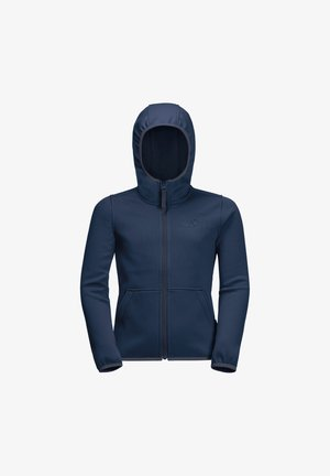 KIEWA  - Fleece jacket - dark indigo