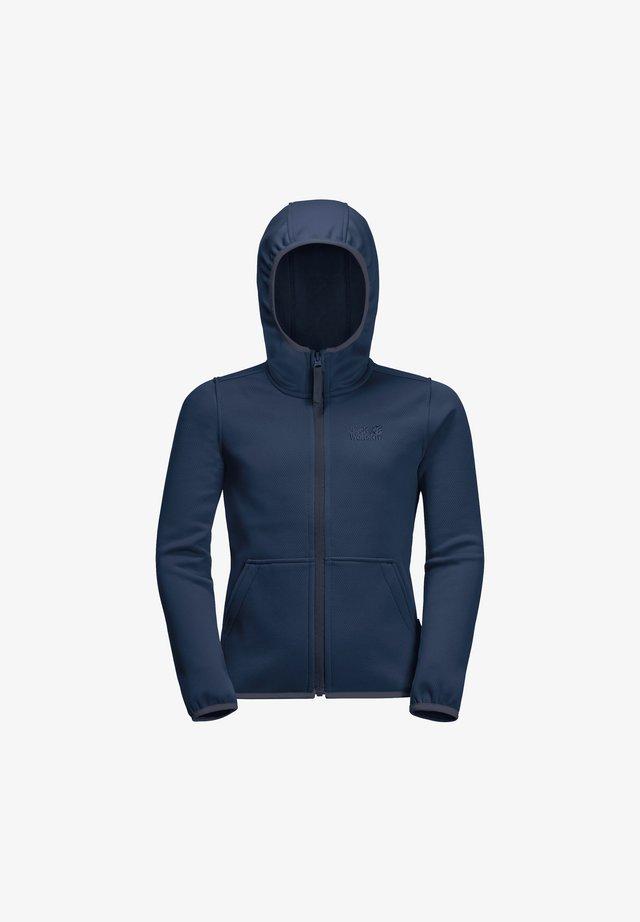 KIEWA  - Fleece jacket - dark indigo
