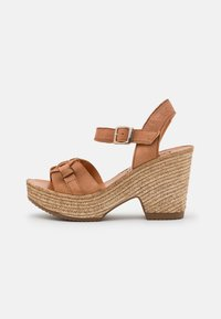 Felmini - MESHA - High heeled sandals - tierra - 1