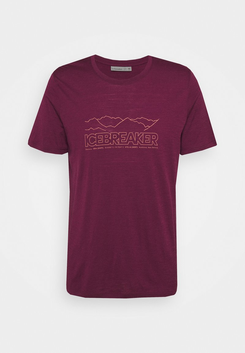 Icebreaker - TECH LITE CREWE STORY - T-shirt print - brazilwood