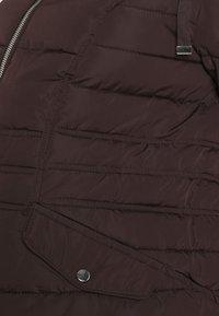 New Look Maternity - MEGAN FITTED PUFFER - Zimní bunda - dark burgundy - 3