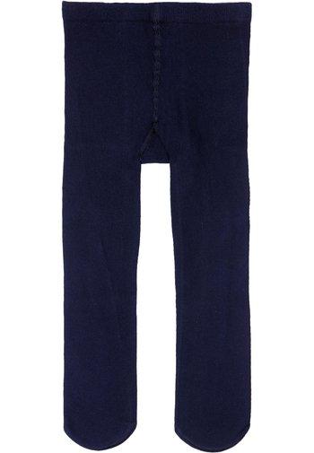 ULTRA BLICKDICHTE STRUMPFHOSE AUS BAUMWOLLE - Tights - blue