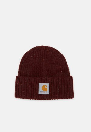 ANGLISTIC BEANIE  - Čepice - bordeaux heather