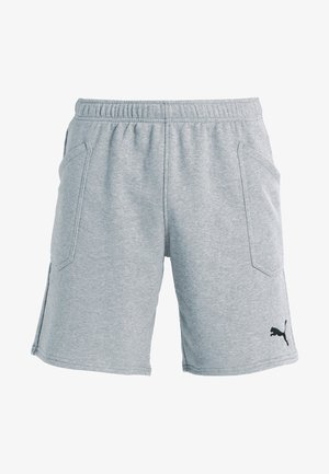 LIGA CASUALS - Urheilushortsit - medium gray heather/black