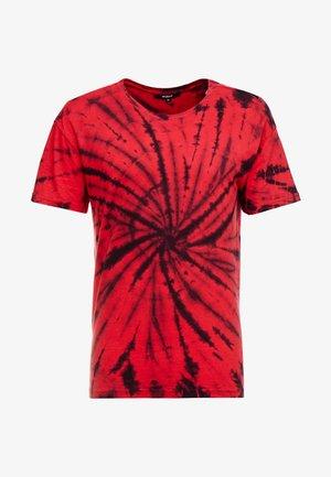 GIGGSEN - Print T-shirt - red