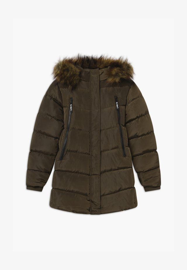 TEEN GIRLS - Winter coat - khaki
