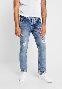 Piazza Italia - Jeans Slim Fit - blue denim - 0