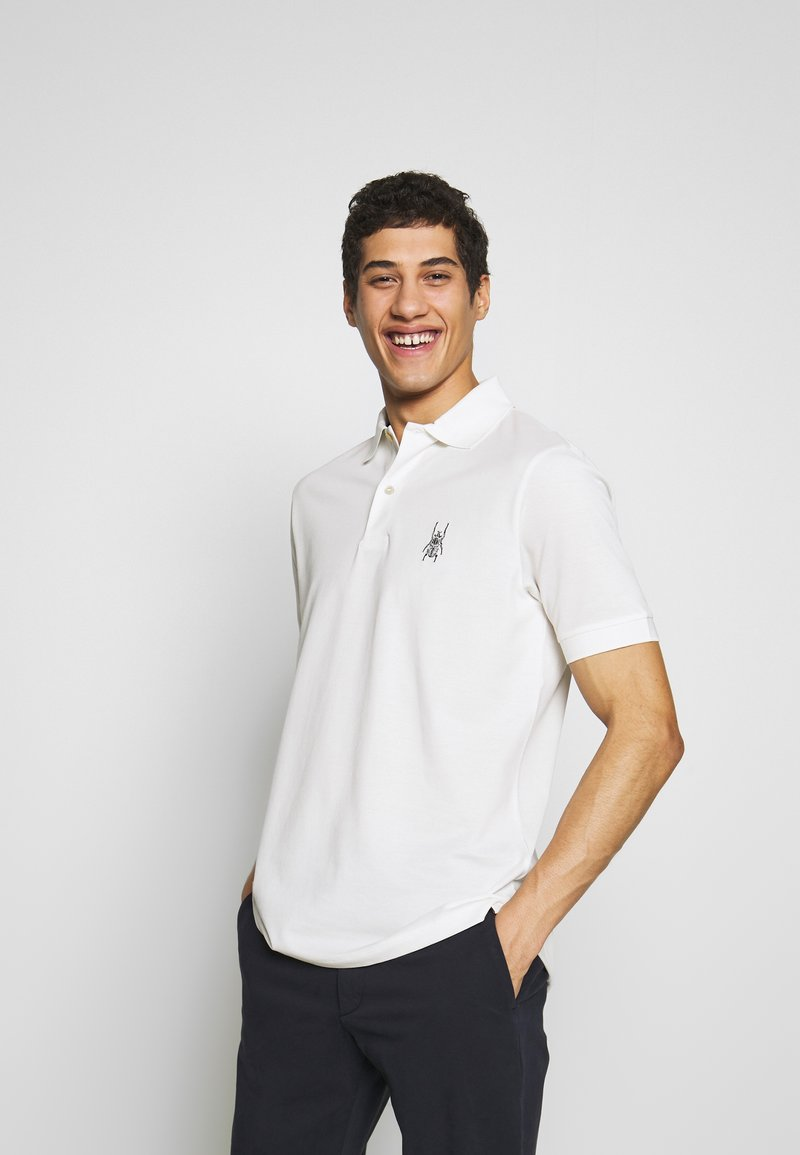 Paul Smith - GENTS BEETLE - Polo - white