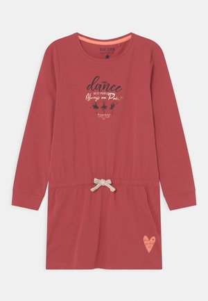 KIDS GIRLS DRESS - Jersey dress - magenta