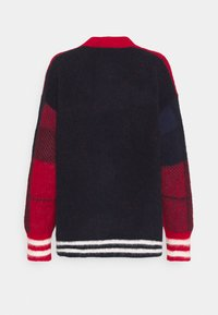 Tommy Hilfiger - ICON CHECK - Vest - red/blue - 1