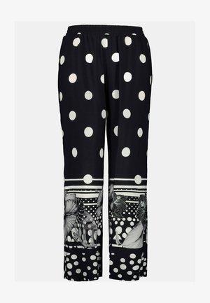 POIS ET PAPI - Trousers - noir