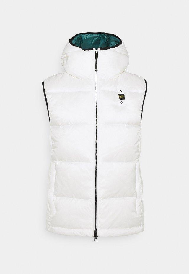 SMANICATI IMOTTITO  - Waistcoat - white
