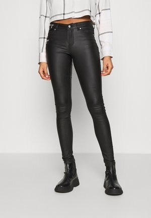 ONLCARMEN REGULAR SKI ZIP  - Pantalon classique - black