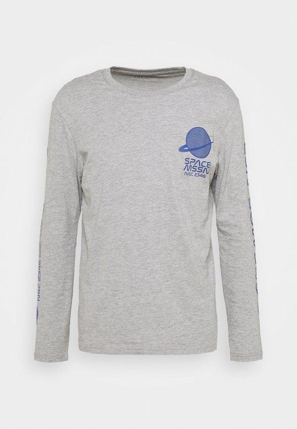 Pier One Bluzka z długim rękawem - mottled grey/szary melanż Odzież Męska XZAE