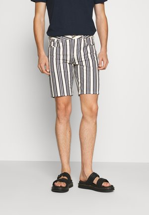 STRIPE OUT - Shorts - offwhite/brown