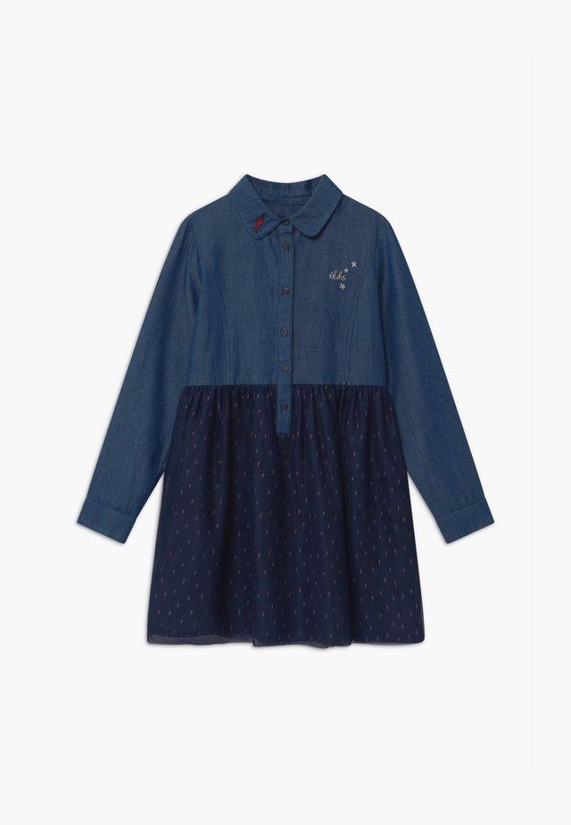 CHAMBRAY - Denim dress - indigo