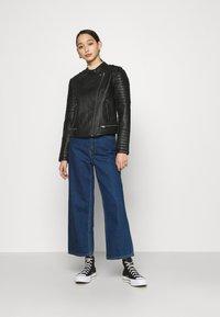Pepe Jeans - LENNA - Chaqueta de cuero sintético - black - 1