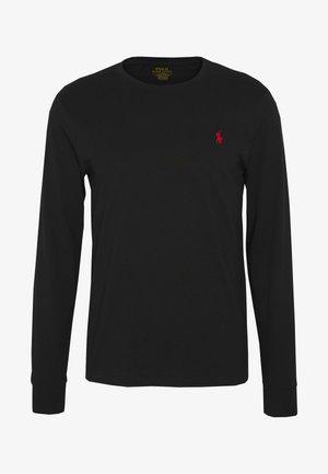 Long sleeved top - polo black