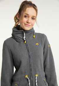 Schmuddelwedda - Zip-up sweatshirt - grau melange - 3