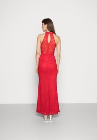 WAL G. - HIGH NECK MAXI - Occasion wear - red - 2