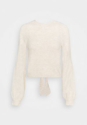 BOW BACK PARTY COLLECTION - Jumper - cream