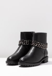 Even&Odd - Cowboy/biker ankle boot - black - 4