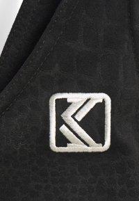 Karl Kani - CROP - Top - black - 5