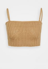 4th & Reckless - HENRY BRALET - Top - cream/camel - 0