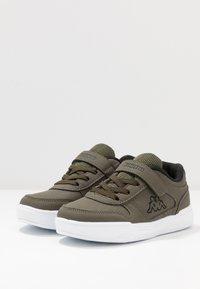 Kappa - DALTON ICE - Sports shoes - army/black - 3
