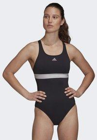 adidas Performance - ADIDAS SH3.RO 4HANNA SWIMSUIT - Swimsuit - black - 0