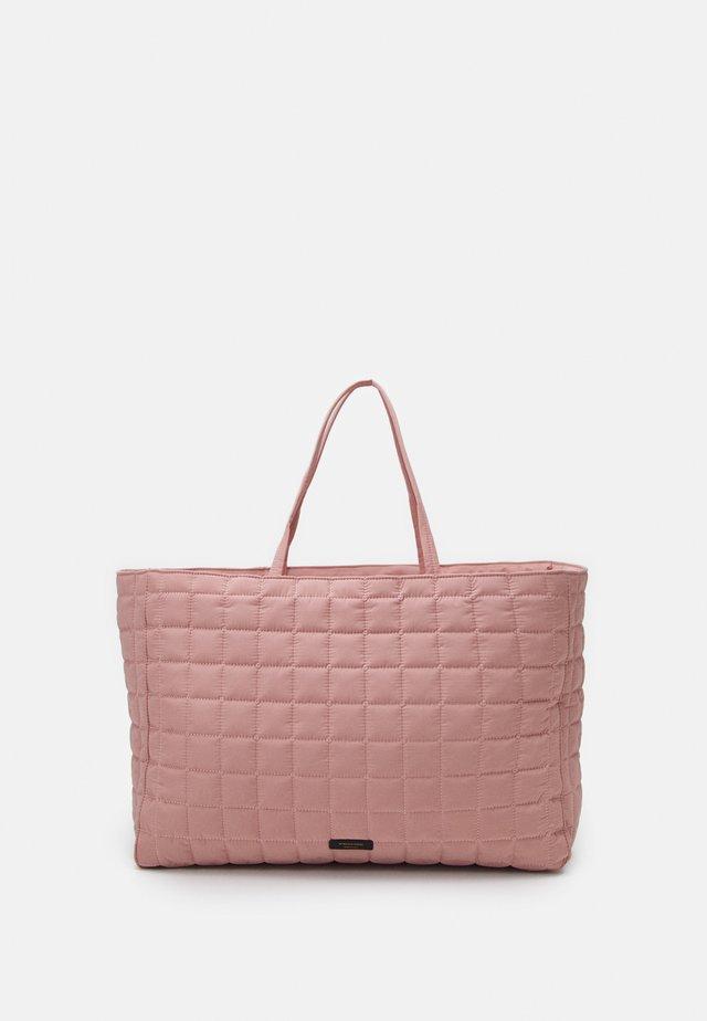 LULIN BAG - Shopping bag - rose powder