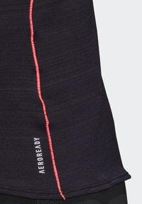 adidas Performance - RUNNER LONG-SLEEVE TOP - Long sleeved top - black - 7