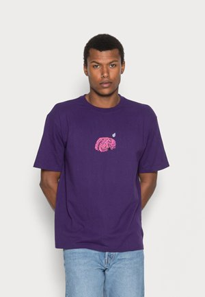 MINDBOTTLE  - Print T-shirt - violet indigo