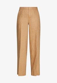 Benetton - TROUSERS - Spodnie materiałowe - beige - 3