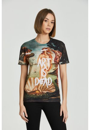 ART IS DEAD - Print T-shirt - beige