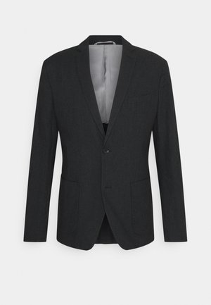 BRUSHED  - Blazer jacket - anthracite