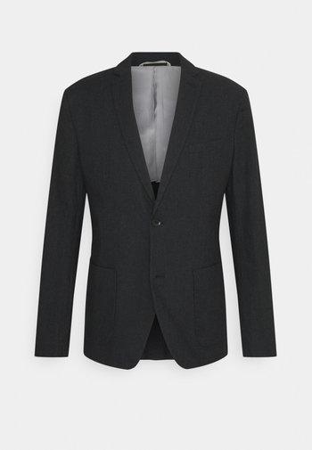 BRUSHED  - Blazer jacket - anthracite